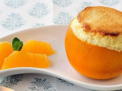 Апельсиновое суфле на пару
