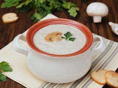 Как приготовить грибной крем-суп