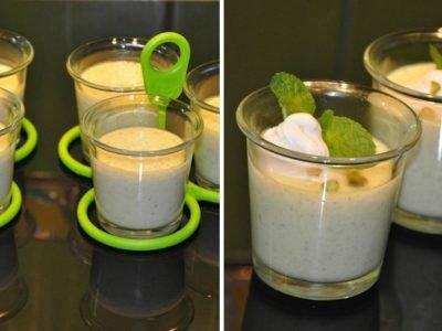 Творожный десерт в пароварке